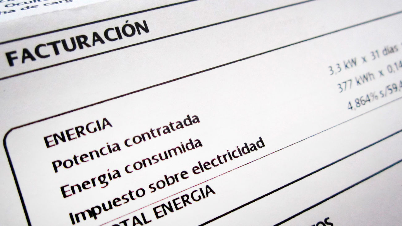 """Facua reclama un """"bono coyuntural"""" del 50% en la factura energética durante seis meses"""
