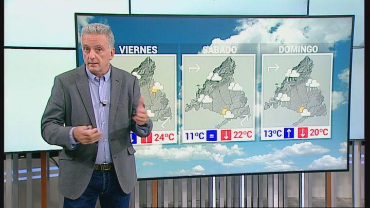 Llegan días de más frío y con algunas lluvias a Madrid