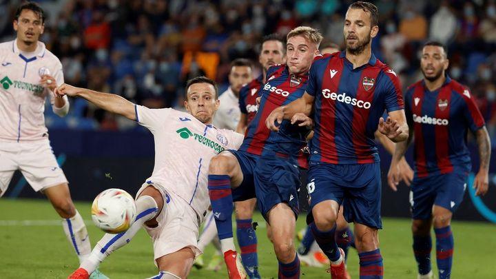 Levante y Getafe empatan a cero y son los únicos en la Liga que siguen sin ganar