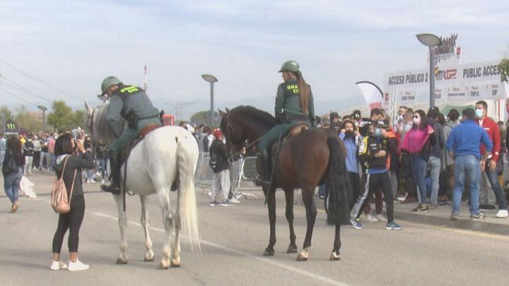 Fuerte dispositivo de seguridad en el GP de España de Motocross de Arroyomolinos