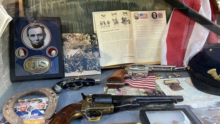 Una exposición recuerda en Madrid la batalla de Gettysburg de la Guerra Civil norteamericana