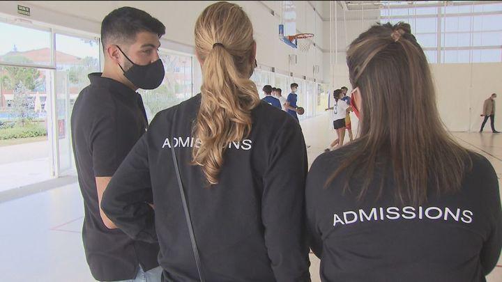 Cazatalentos de universidades de EEUU buscan en Madrid jóvenes deportistas para ser becados