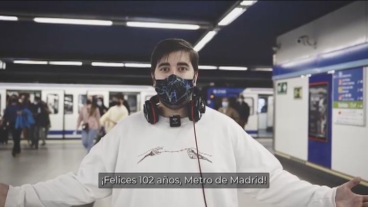 Metro de Madrid suma y sigue y celebra su 102 aniversario
