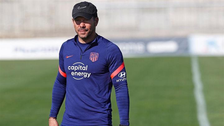 """Simeone: """"Esperamos ante el Liverpool un estadio lleno de camisetas rojiblancas"""""""