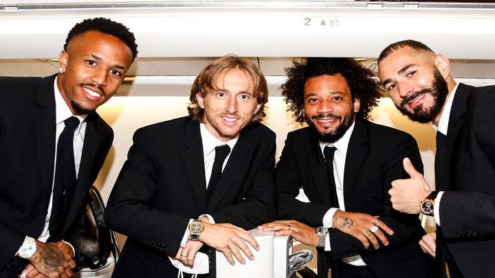 El Real Madrid ya está en Kiev