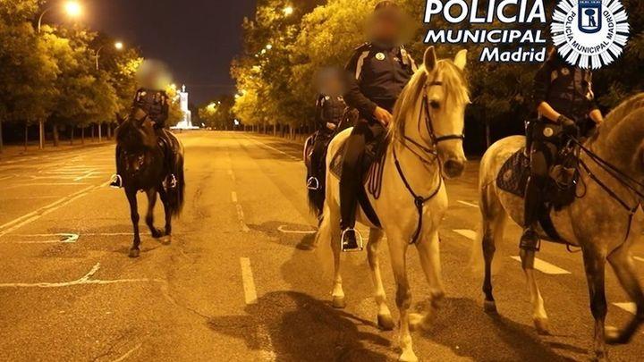 Fin  de semana sin macrobotellones en Madrid