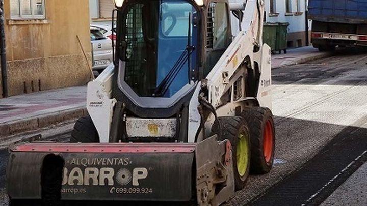 Comienzan las obras de renovación de pavimentación en la calle Virgen del Pilar de Arganda