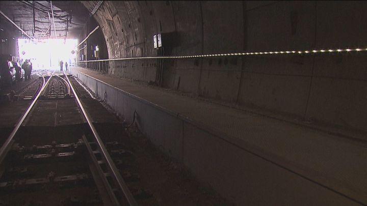 Visitamos el túnel del AVE que unirá Atocha y Chamartín