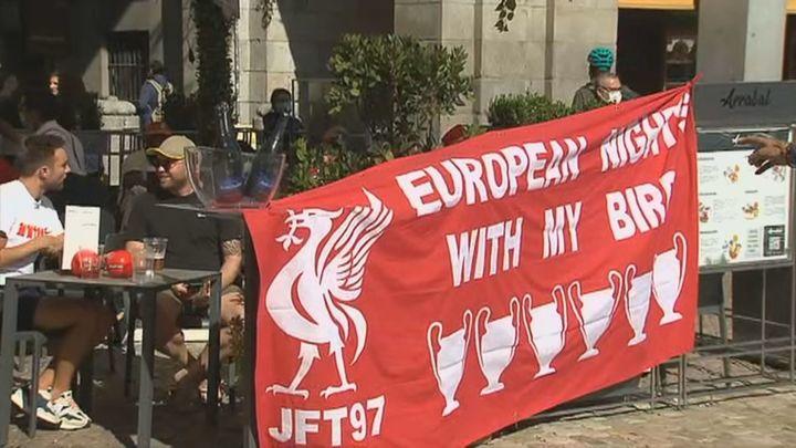 Alerta en Madrid: más de 3.000 hinchas del Liverpool toman la capital