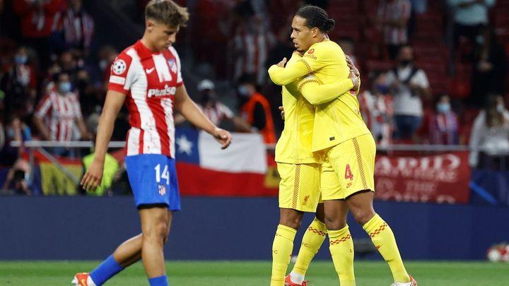 Marcos Llorente recae de su lesión ante el Liverpool