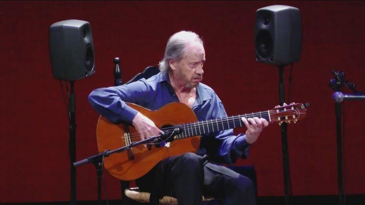 Arranca la principal cita del flamenco en Madrid con el toque de Víctor Monge 'Serranito'