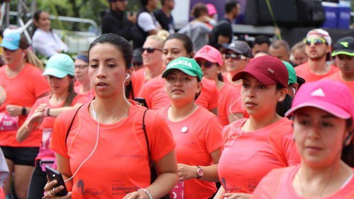 Henar Calleja explica las novedades de la Carrera de la Mujer