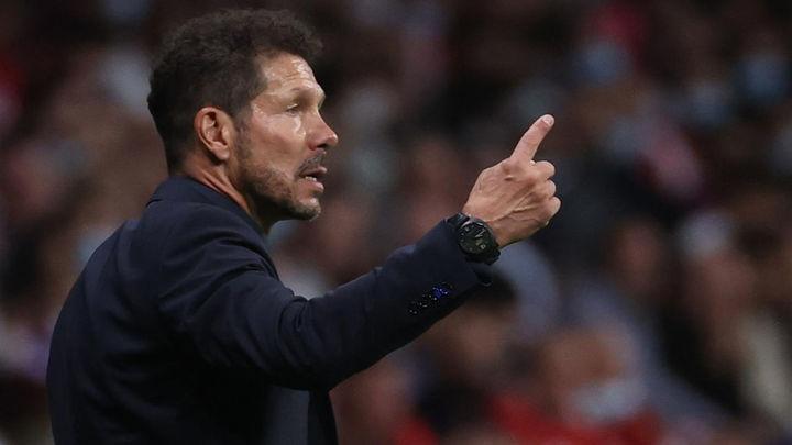 """Simeone: """"No me voy contento cuando pierdo, pero el equipo está fuerte"""""""