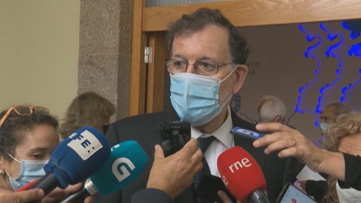 """Rajoy sobre ETA: """"Queda pendiente que se pida perdón por quienes tanto daño han causado a tanta gente"""""""