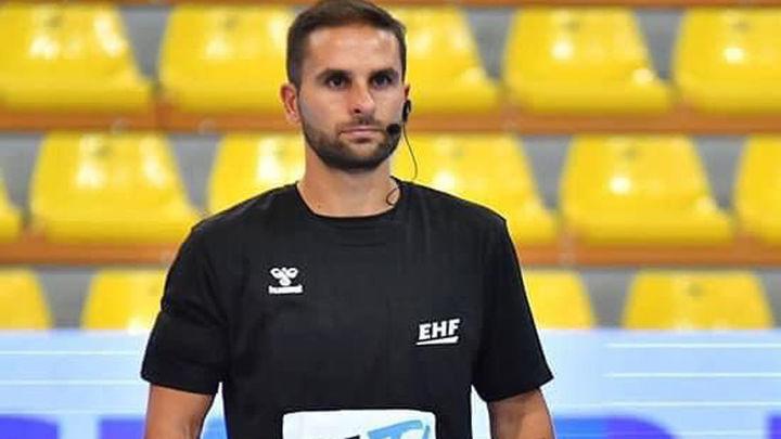 El arbitro madrileño David Monjo debuta como internacional