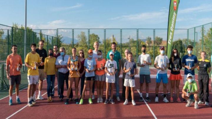 Gran participación en el Open Nacional de Tenis Ciudad de Tres Cantos