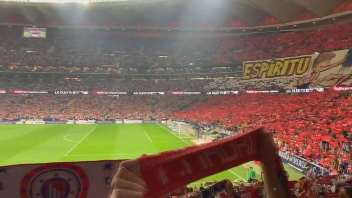 Sin efecto Wanda, el público no le basta al Atlético