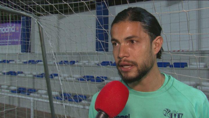 Rubén Dario, del Moscardó, ha vivido las dos caras del fútbol