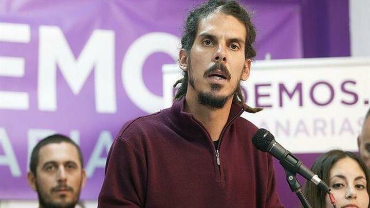 La presidenta del Congreso  comunica a Alberto Rodríguez su suspensión como diputado