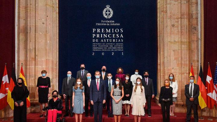 """Premios Princesa de Asturias 2021: """"Cada uno aporta unos valores y todos juntos nos enriquecen"""""""