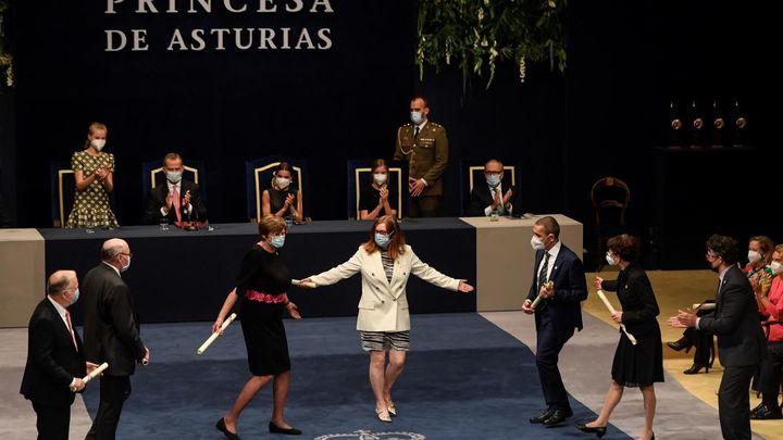 Oviedo asiste a una de las ceremonias más emotivas de los Premios Princesa de Asturias