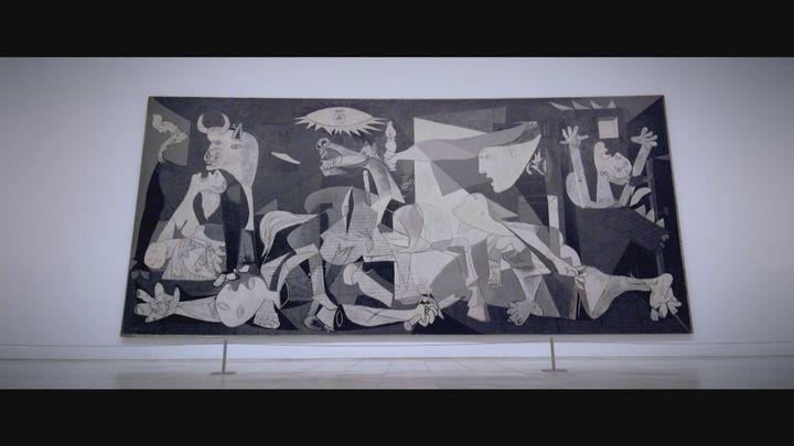 Antes de ser devuelto a España, el 'Guernica' de Picasso viajo por todo el mundo