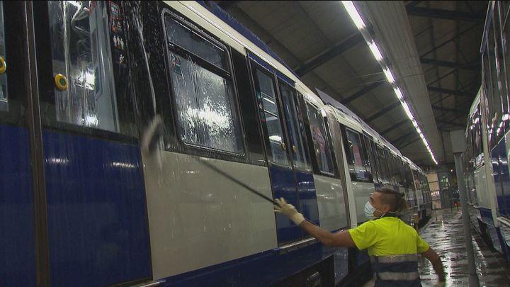 La vida nocturna de Metro de Madrid