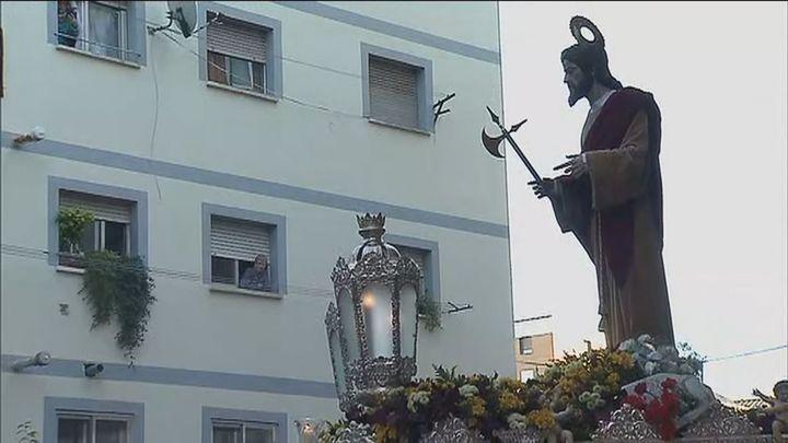 San Judas Tadeo vuelve a procesionar por las calles de Alcorcón