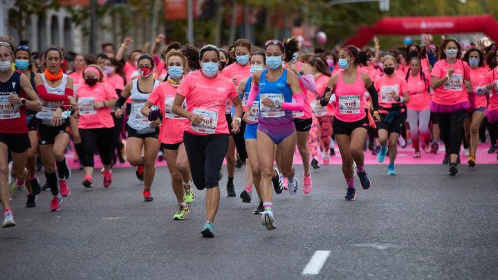 Más de 18.000 mujeres participan en Madrid  en la Carrera de la Mujer 2021