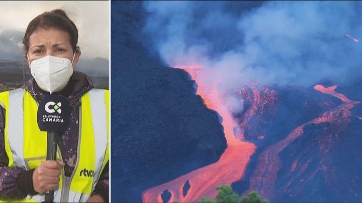 Aumentan los terremotos en La Palma y las coladas siguen ensanchando