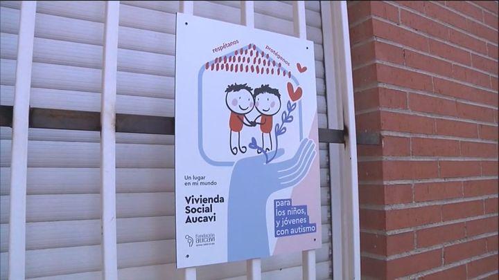 Okupan en Rivas Vaciamadrid un piso social para el tratamiento de adolescentes autistas