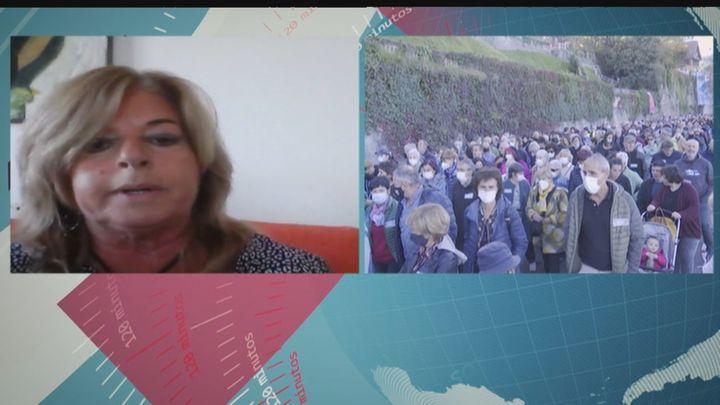 "Consuelo Ordóñez: ""No creo a Otegi, pero tampoco a los políticos de este país"""