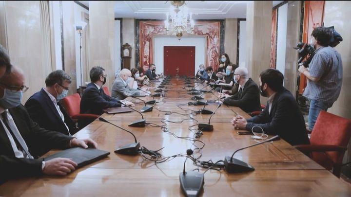 Reunión entre PSOE y Unidas Podemos para frenar la crisis por la reforma laboral y el caso de Alberto Rodríguez