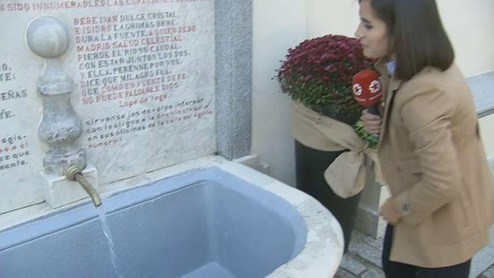 La fuente de San Isidro se abre al público todo el año tras su restauración