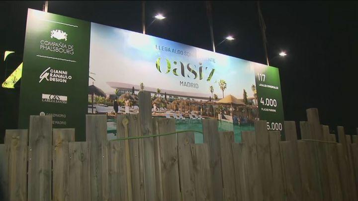 El centro comercial Oasiz de Torrejón de Ardoz retrasa su apertura hasta diciembre