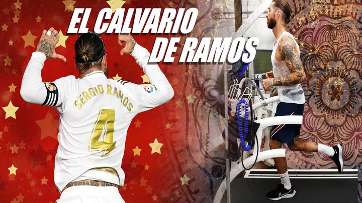 Sergio Ramos no acaba de superar la pesadilla