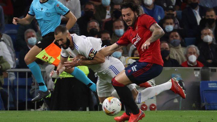 0-0. El Real Madrid tropieza con el Osasuna
